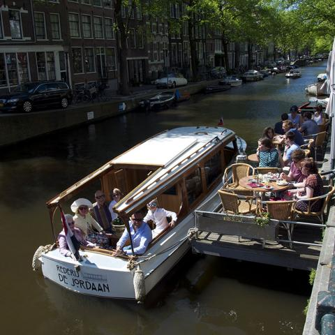 Welmoed Jordaan Private Boat Amsterdam