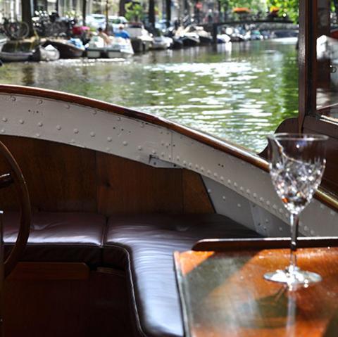 Farahilde Luxury Private Boat Amsterdam