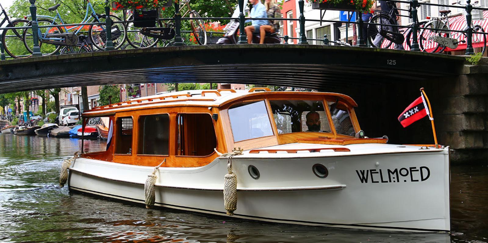 Welmoed Private Boat Amsterdam