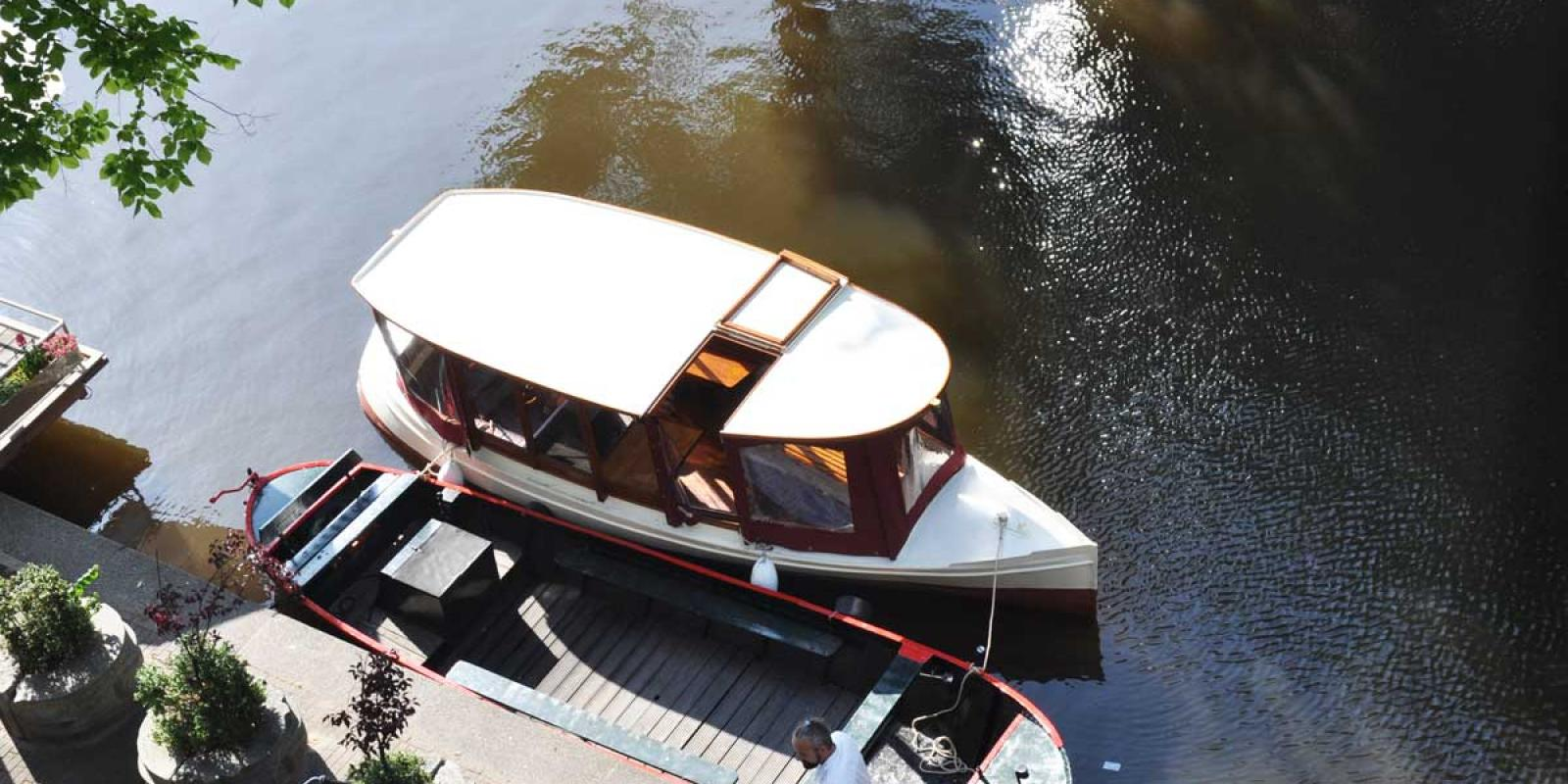 Roof Farahile Private Boat Amsterdam