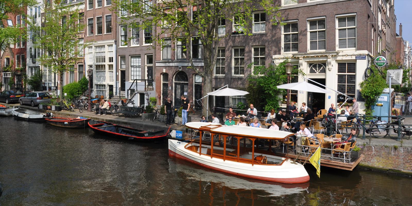 Farahilde Jordaan Private Boat Amsterdam