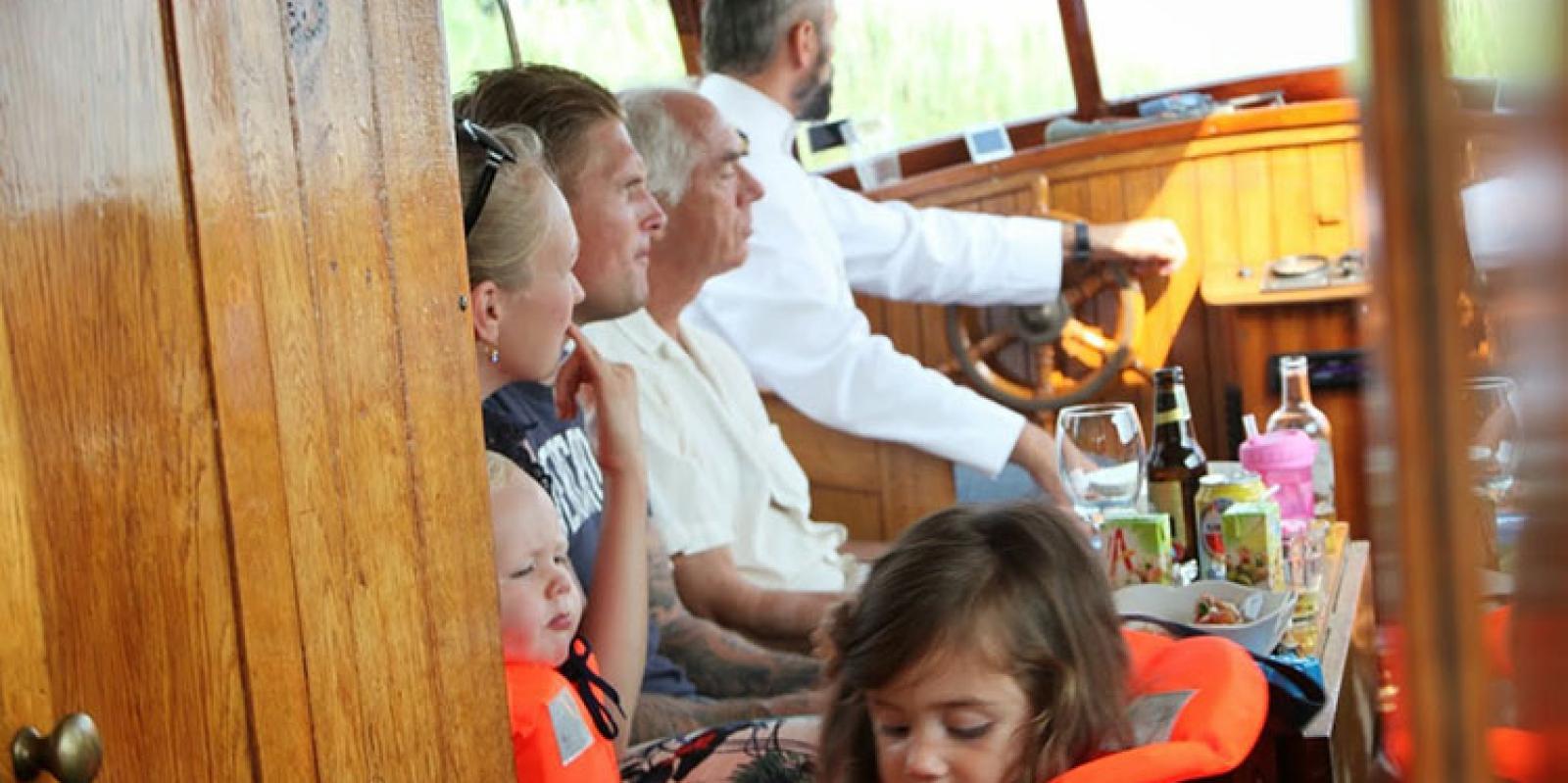 Children Private Boat Amsterdam