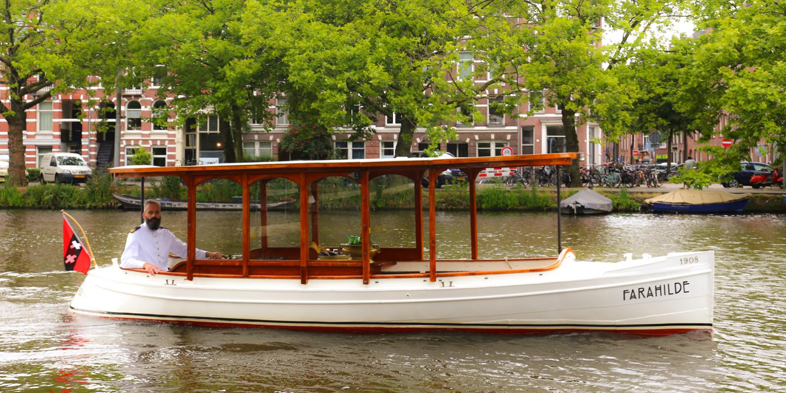 Farahilde Canals Private Boat Amsterdam