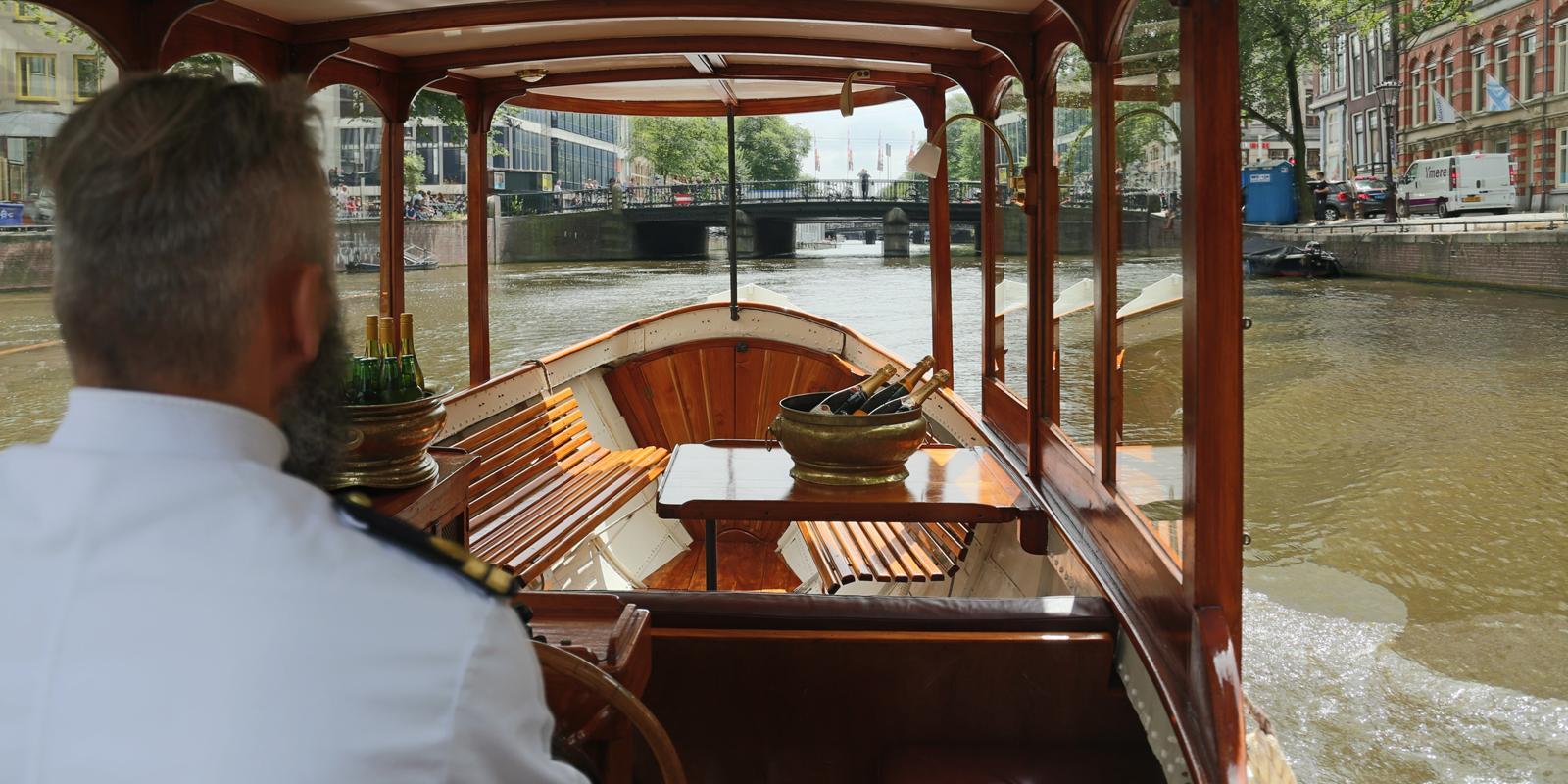 Farahilde Interior Private Boat Amsterdam