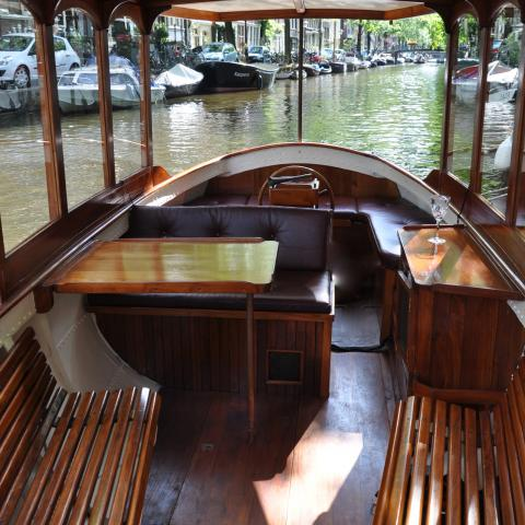 Farahilde Open Private Boat Amsterdam